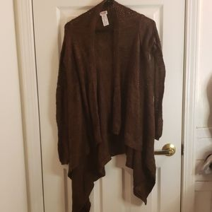 Mossimo Brown Cardigan Size XS